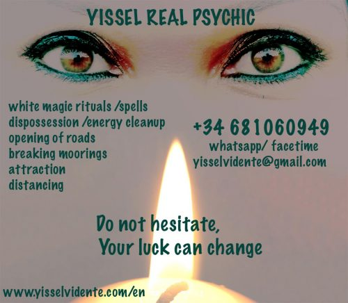 RITUALS, SPELLS, WHITE MAGIC, ENERGY, SPIRITUAL CLEANING, MOORINGS, ATTRACTION, DISTANCING, ABUNDANCE. REPELLENT,BAD ENERGY, PSYCHIC, GOOD LUCK, OPENING ROADS,